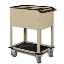 CR/DR top loading cart