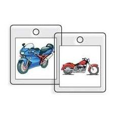 Personal Touch Photo Markers: Motorcycle
