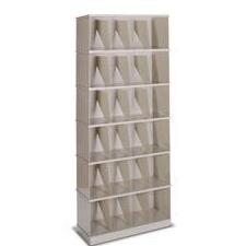 stackable records shelving unit