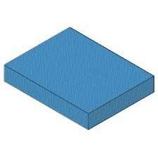 "3"" rectangle sponge"