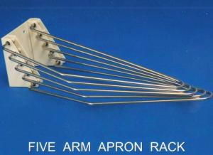 Five Arm X-ray Apron Hanger